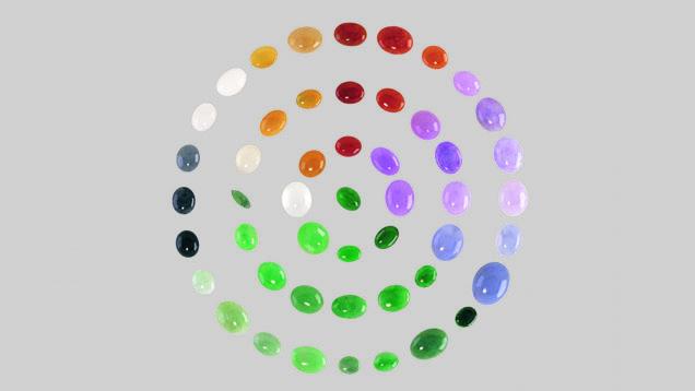 Daca ai nevoie de sprijin pentru depasirea greutatilor, poarta o bratara multicolora de jad!
